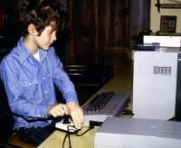 Me at my Commodore 64
